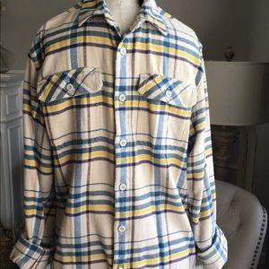 Patagonia Plaid Soft Flannel Shirt